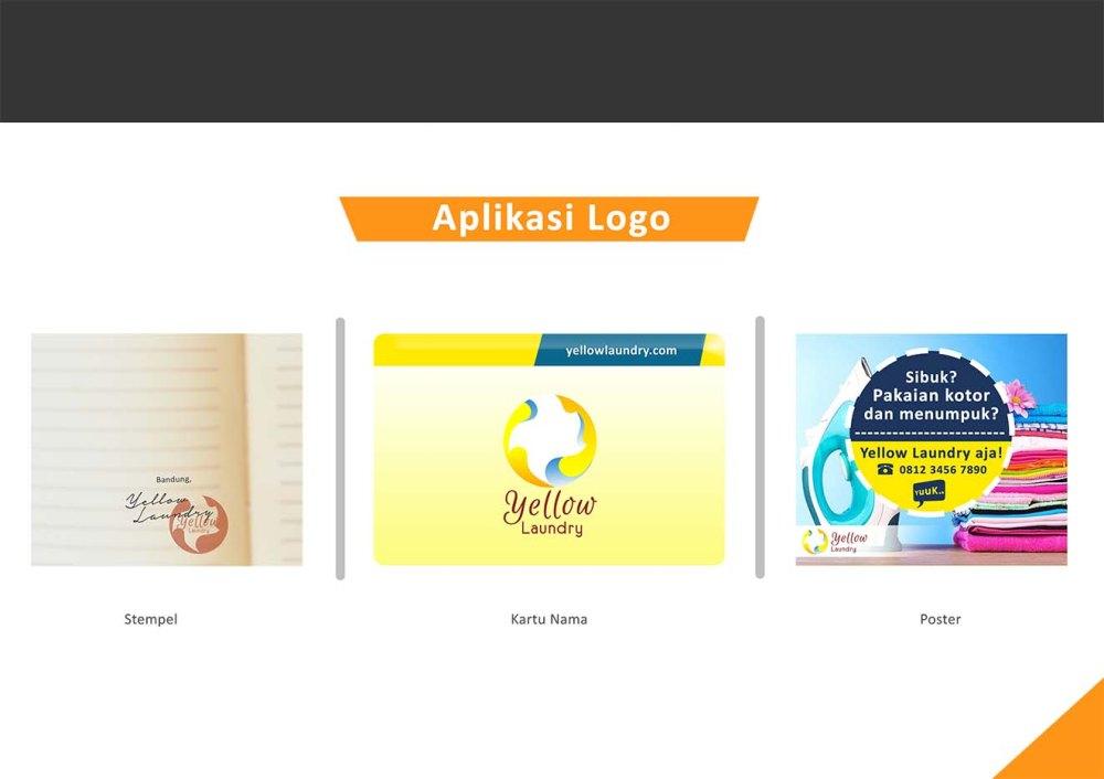 penerapan-logo-yellow-laundry